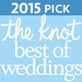 Rev. Kelly Jo Singleton The Knot 2015 Award for Best of Weddings