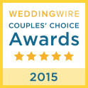 Rev. Kelly Jo Singleton Wedding Wire 2015 Couple's Choice Award