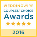 Rev. Kelly Jo Singleton Wedding Wire 2016 Couple's Choice Award