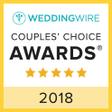 Rev. Kelly Jo Singleton Wedding Wire 2017 Couple's Choice Award